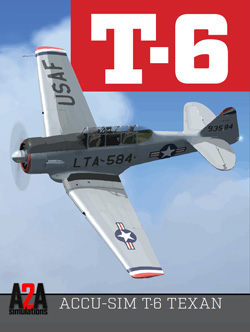 A2A SIMULATIONS - T-6 TEXAN FSX P3D ACADEMIC BUNDLE