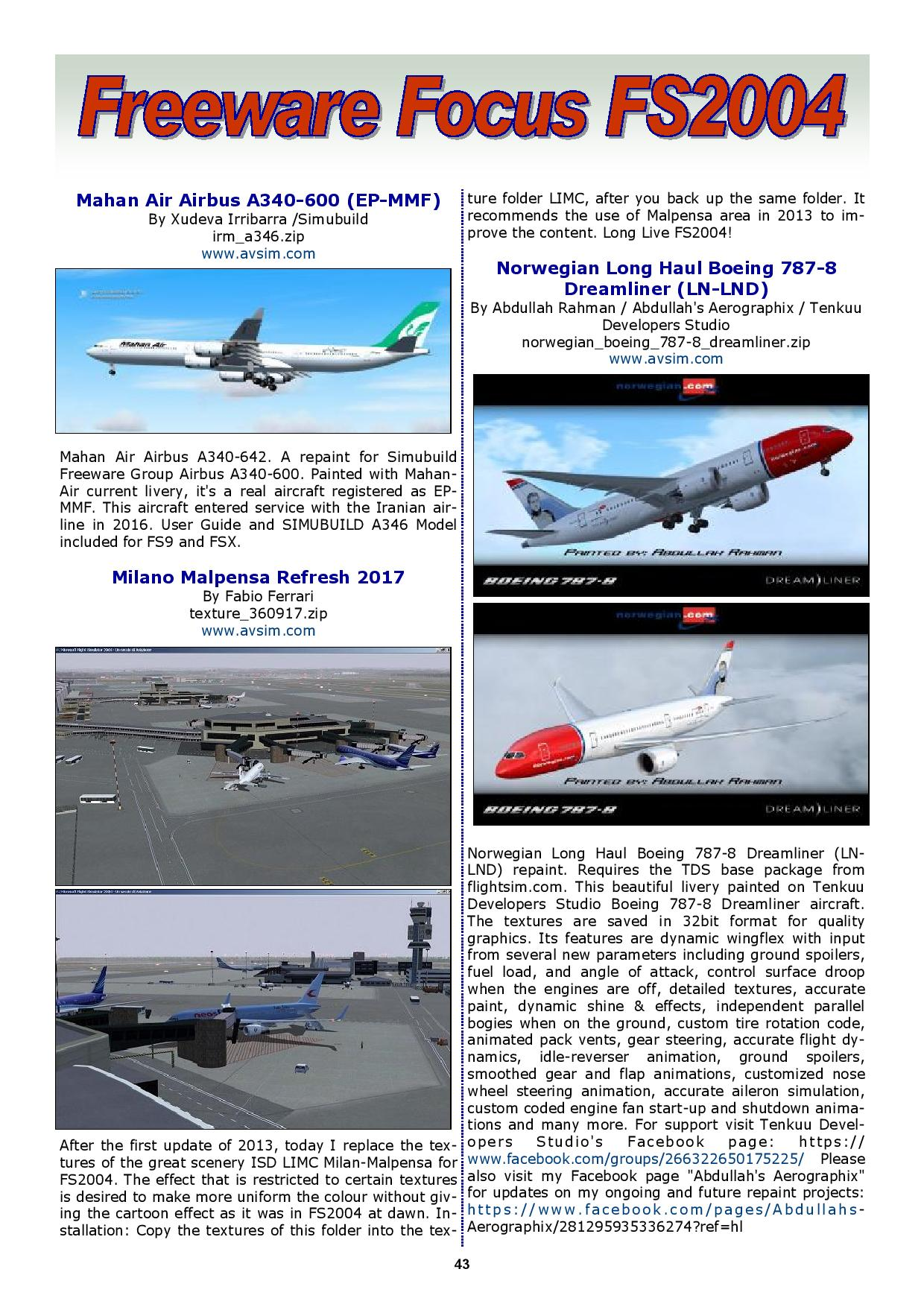 PC FLIGHT VOL. 20 ISSUE 1 MARCH 2017 - FREE