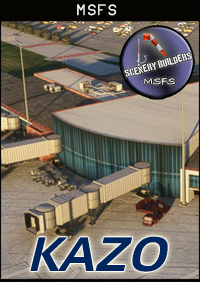 FSXCENERY - KAZO KALAMAZOO BATTLE CREEK INTERNATIONAL AIRPORT MSFS