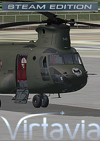 VIRTAVIA - CH-47D CHINOOK FSX STEAM EDITION