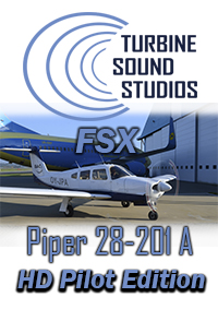 TURBINE SOUND STUDIOS - PIPER 28-201 ARROW PILOT EDITION FSX