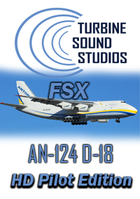 TURBINE SOUND STUDIOS - ANTONOV-124 PROGRESS D-18T PILOT EDITION SOUNDPACK FSX P3D