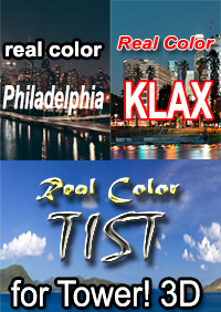 NYERGES DESIGN - REAL COLOR TIST KPHL KLAX BUNDLE FOR TOWER! 3D