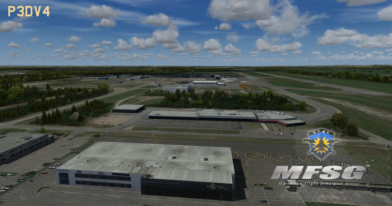 MFSG - JEAN LESAGE INTERNATIONAL AIRPORT CYQB 2019 FSX P3D FS2004