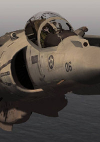 SIM SKUNK WORKS - MCDONNEL DOUGLAS AV8B II HARRIER FOR P3D V5.X