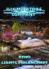 ILLUMINATORS - RENO - NEVADA NIGHT LIGHT ENHANCED FOR MSFS