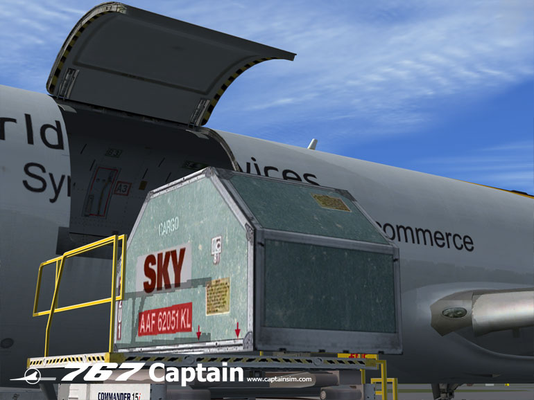 CAPTAIN SIM - 767 FREIGHTER EXPANSION MODEL - FSX