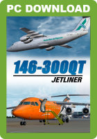 JUSTFLIGHT - 146-300QT QUIET TRADER JETLINER