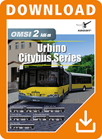 AEROSOFT - OMSI 2 ADD-ON URBINO STADTBUSFAMILIE