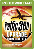 JUSTFLIGHT - TRAFFIC 360 UPGRADE FROM TRAFFIC X (DOWNLOAD)