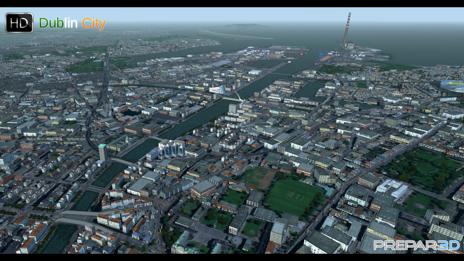 PREALSOFT - HD CITIES - DUBLIN - FSX P3D