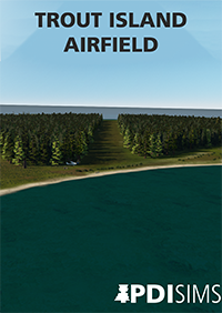 PDI SIMS - TROUT ISLAND AIRFIELD, LAKE MICHIGAN. FOR X-PLANE 11