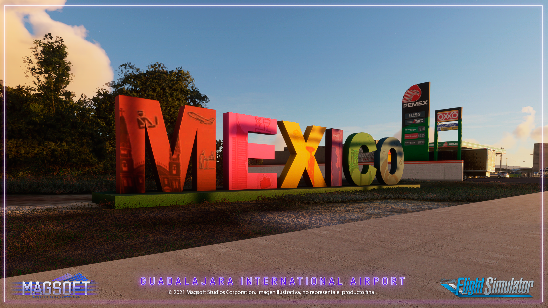 MAGMEXICO - GUADALAJARA INTERNATIONAL MMGL MSFS