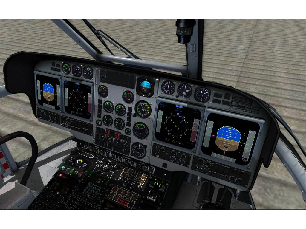 NEMETH DESIGNS - EUROCOPTER AS332 L2 SUPERPUMA FSX P3D