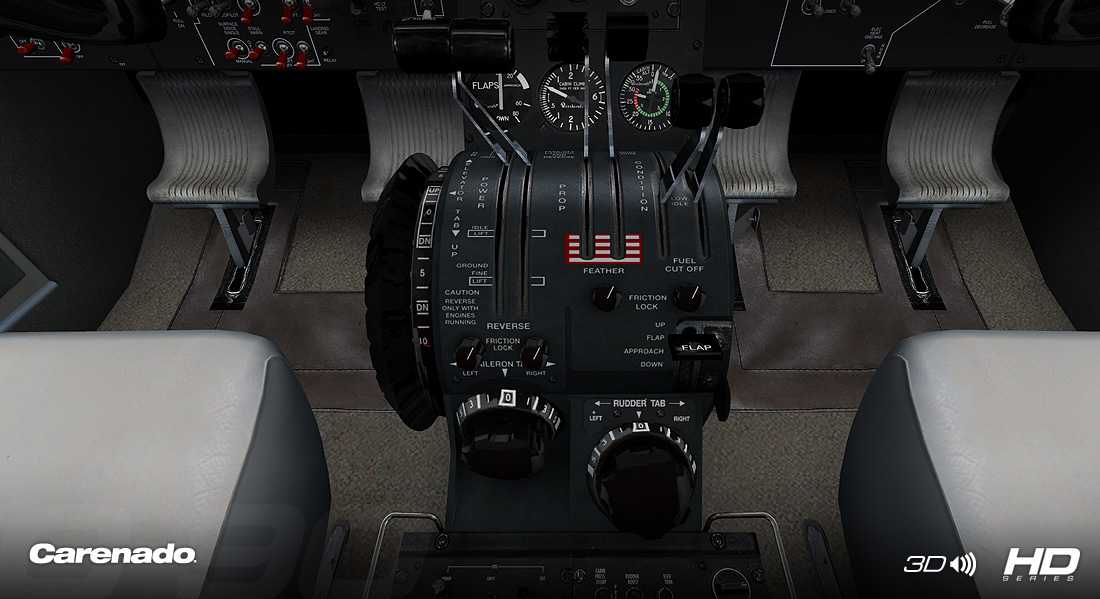 CARENADO - C90B KING AIR HD SERIES FSX P3D V2