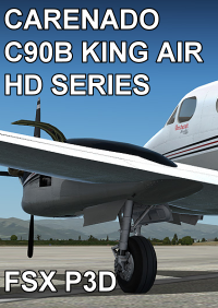 CARENADO - C90B KING AIR HD SERIES FSX P3D
