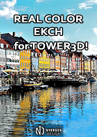 NYERGES DESIGN - REAL COLOR EKCH FOR TOWER! 3D
