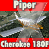 CARENADO - PIPER CHEROKEE 180F FSX