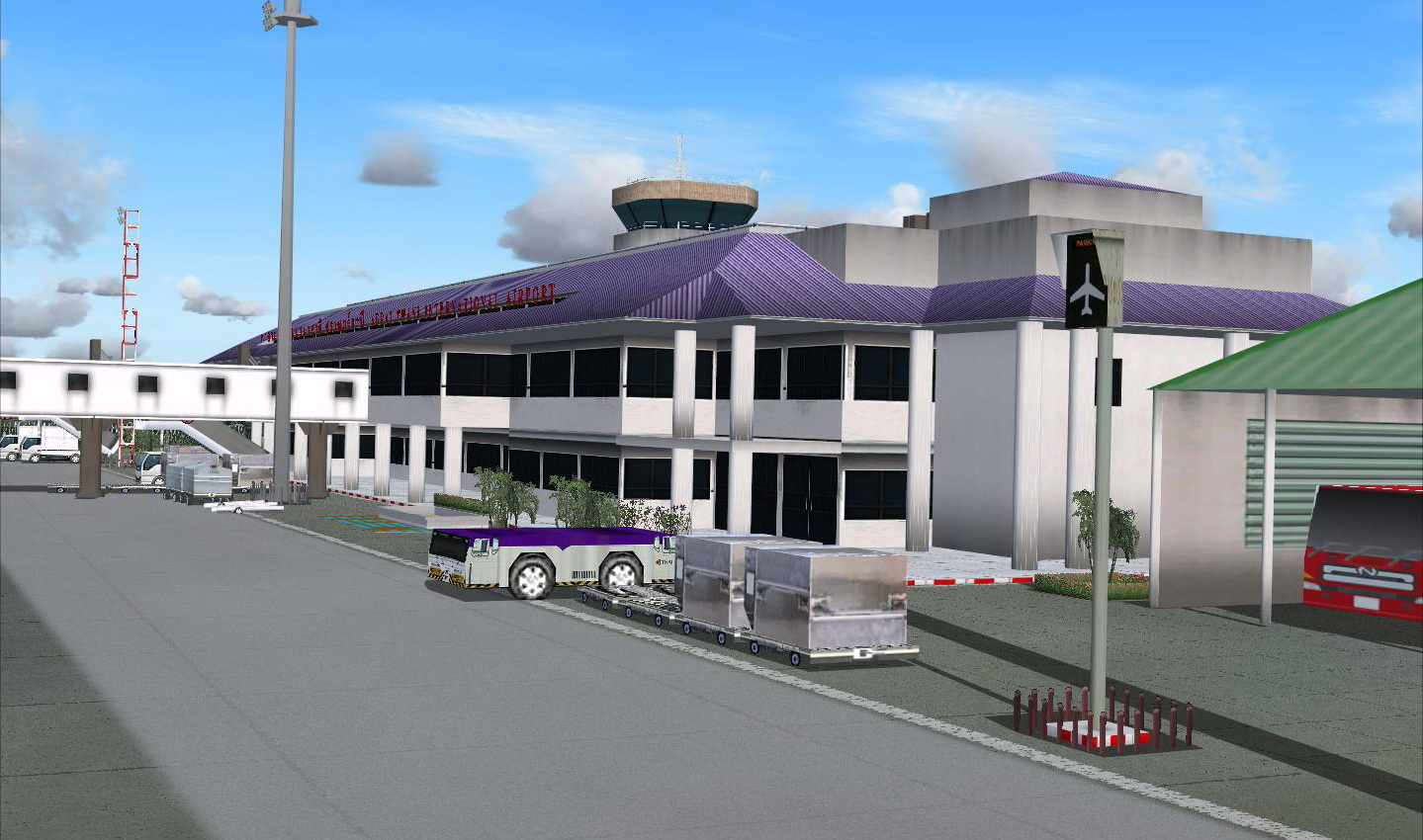 ONET VALLEY - SURAT THANI INTERNATIONAL AIRPORT FS2004