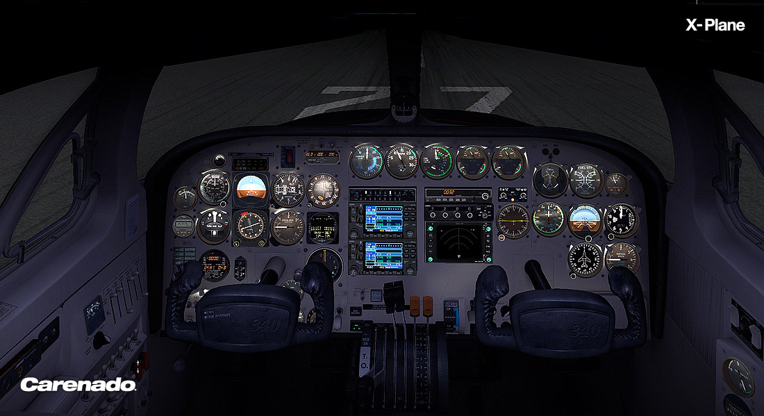 CARENADO - C340 HD SERIES FOR X-PLANE 10