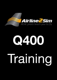 AIRLINE2SIM - MAJESTIC DASH 8 Q400 CADET HD VIDEO TRAINING