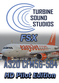 TURBINE SOUND STUDIOS - AIRBUS A320 HD CFM56-5B4 PILOT EDITION SOUNDPACK FSX