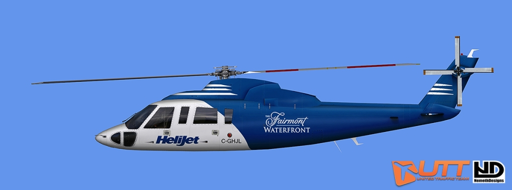 UTT - AI-TRAFFIC SIKORSKY S-76 (AI HELICOPTER) FS2004