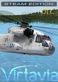 VIRTAVIA - CH-53A SEA STALLION FSX STEAM EDITION DLC