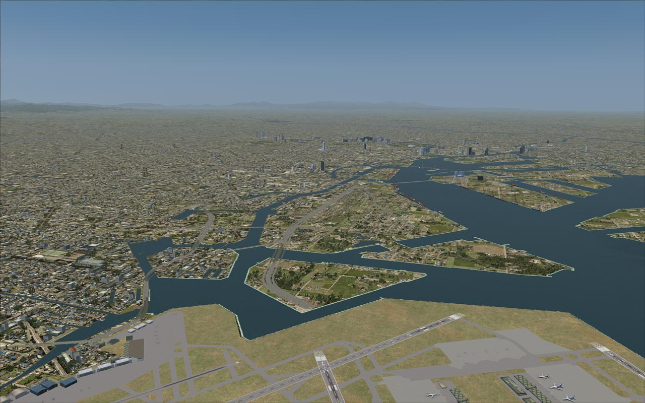 FLIGHT 1 - GROUND ENVIRONMENT X – ASIA AND SOUTH AMERICA FSX FSXSE