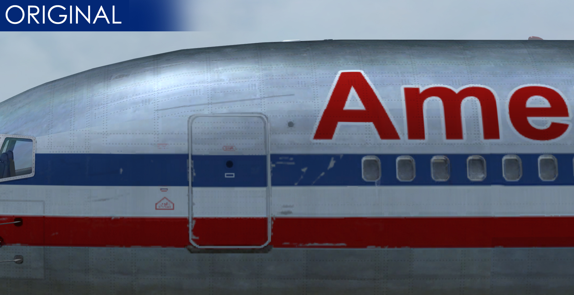 PAINTSIM - UHD TEXTURE PACK FOR CAPTAIN SIM BOEING 767-300 FSX