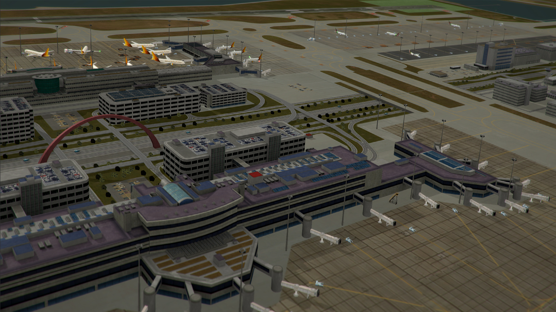 NYERGES DESIGN - RJTT AIRPORT FOR TOWER! 3D
