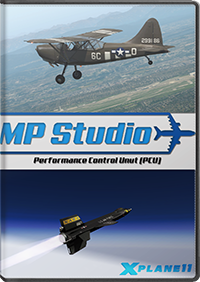 MP STUDIO - PERFORMANCE CONTROL UNIT (PCU) X-PLANE11