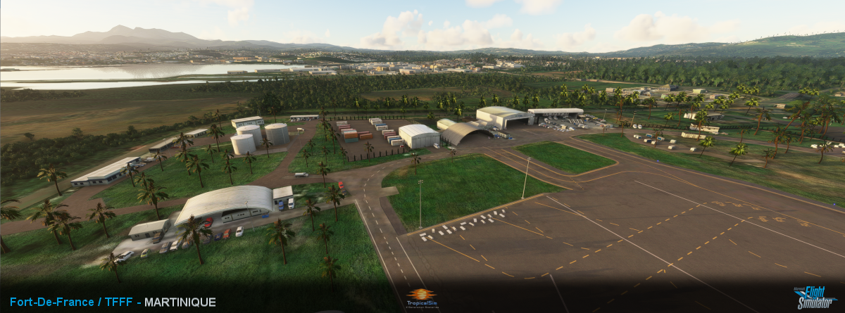 TROPICALSIM - FORT-DE-FRANCE MARTINIQUE TFFF MSFS
