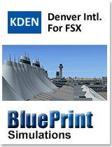 BLUEPRINT - KDEN DENVER INTERNATIONAL FSX