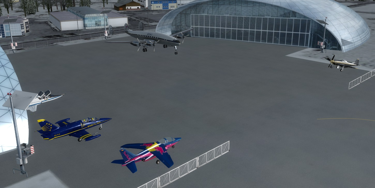 LORBY-SI - WHERE ARE MY AIRCRAFT WAMA FSX P3D