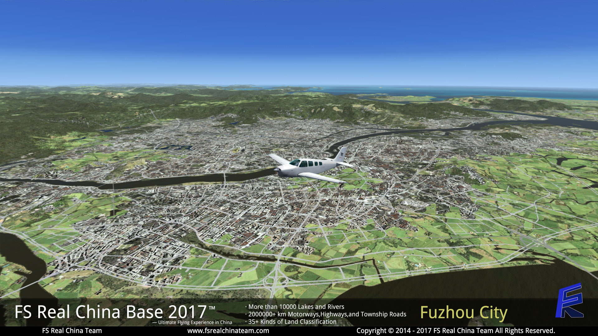 FS REAL CHINA TEAM - FS REAL CHINA BASE 2017 - FSX FSXSE P3D