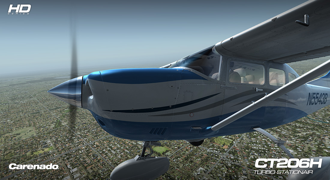 CARENADO - CT206H STATIONAIR FSX P3D HD SERIES