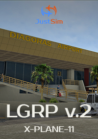 JUSTSIM - RHODES INTERNATIONAL AIRPORT V2 FOR X-PLANE-11