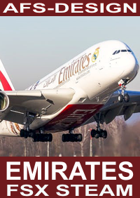 AFS-DESIGN - AIRBUS COLLECTION - EMIRATES V2 FSX-STEAM