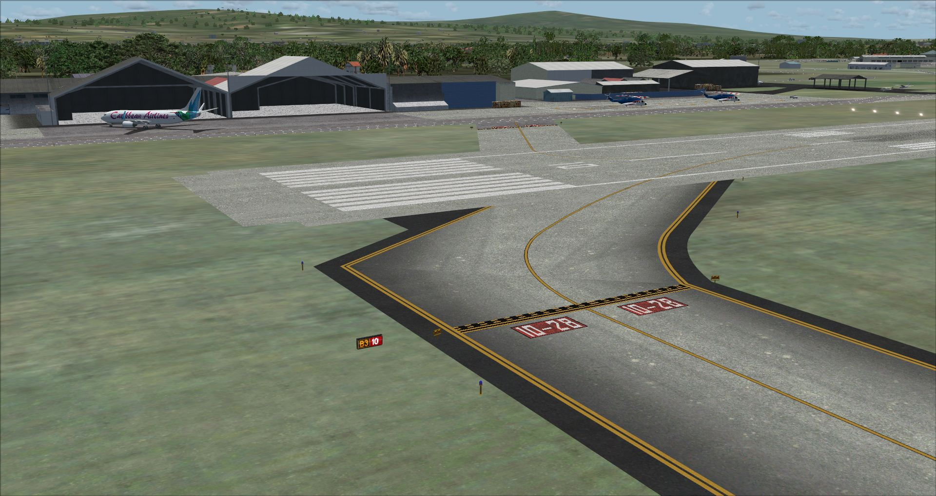 FINAL APPROACH SIMULATIONS - CARIBBEAN AIRPORTS VOLUME 1: TRINIDAD, TOBAGO, GRENADA P3D