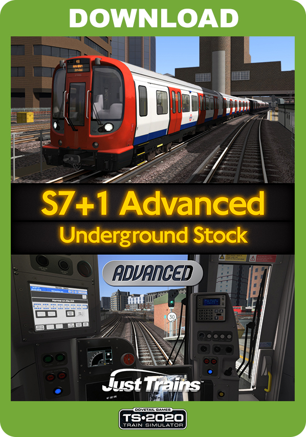 JUSTTRAINS -  S7+1 ADVANCED UNDERGROUND STOCK