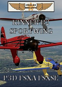 GOLDEN AGE SIMULATIONS - KINNER B2 SPORTWING 经典飞机 P3D FSX