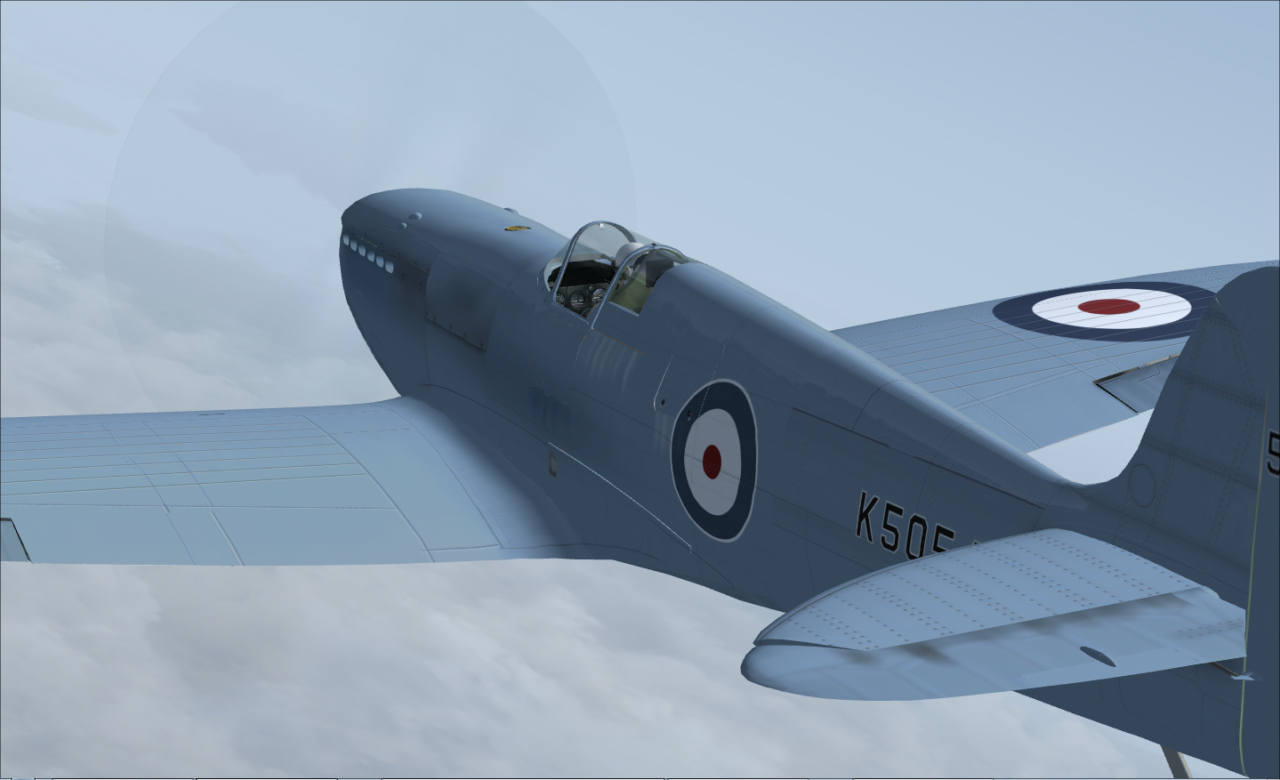 JUSTFLIGHT - BATTLE OF BRITAIN SPITFIRE
