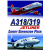 JUSTFLIGHT - A318/319 JETLINER A318/A319 LIVERY EXPANSION PACK