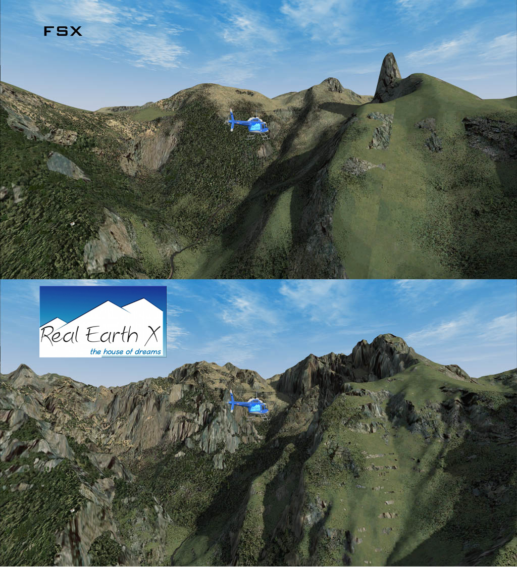 REAL EARTH X - DTM ITALY VOLUME 3 FSX P3D