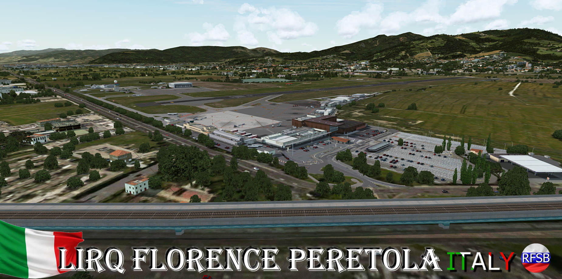 RFSCENERYBUILDING - LIRQ FLORENCE PERETOLA P3D4