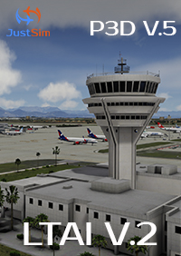 JUSTSIM - ANTALYA INTERNATIONAL AIRPORT LTAI V.2 P3D5