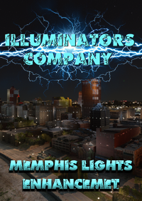 ILLUMINATORS - MEMPHIS (USA) NIGHT LIGHT ENHANCED MSFS