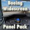SKY DECKS - FS9 BOEING WIDESCREEN PANEL PACK
