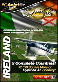 MEGASCENERYEARTH - PC AVIATOR - MEGASCENERY EARTH - IRELAND FSX P3D